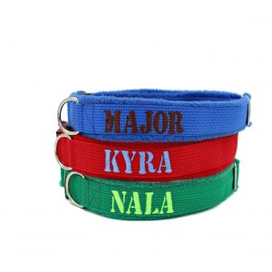 Dog-collar-with-name-embroidered