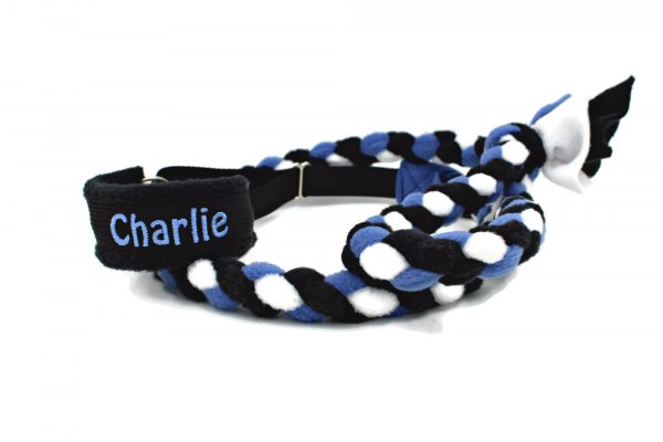 Fleece-martingale-leash